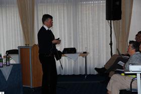 Dr. Frank Klein referierte über Diabetes.
